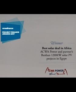 Best Solar Deal in Africa, 2017