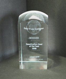 DESALINATION DEAL OF THE YEAR GLOBAL WATER INTELLIGENCE 2008