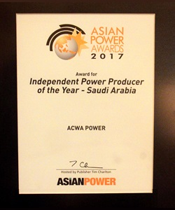 Independent Power Producer of the Year - Saudi Arabia