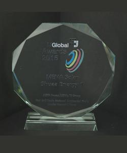 MENA POWER SHUAA ENERGY 1 IJ GLOBAL AWARDS 2015