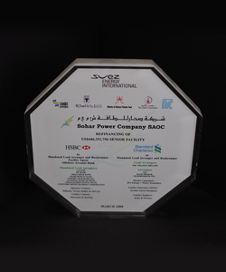 REFINANCING OF SOHAR POWER COMPANY 2008