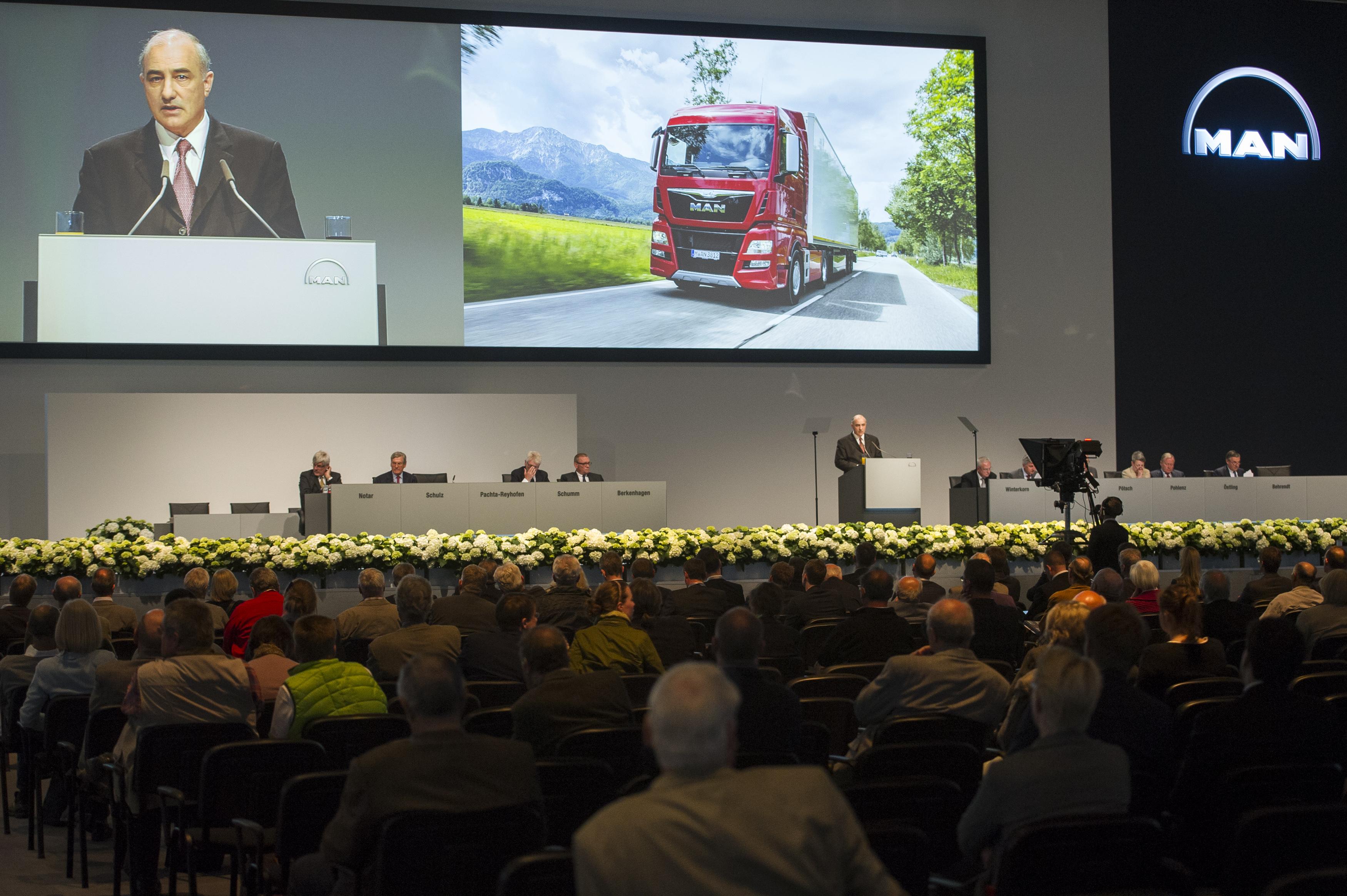 Annual General Meeting MAN SE 2015