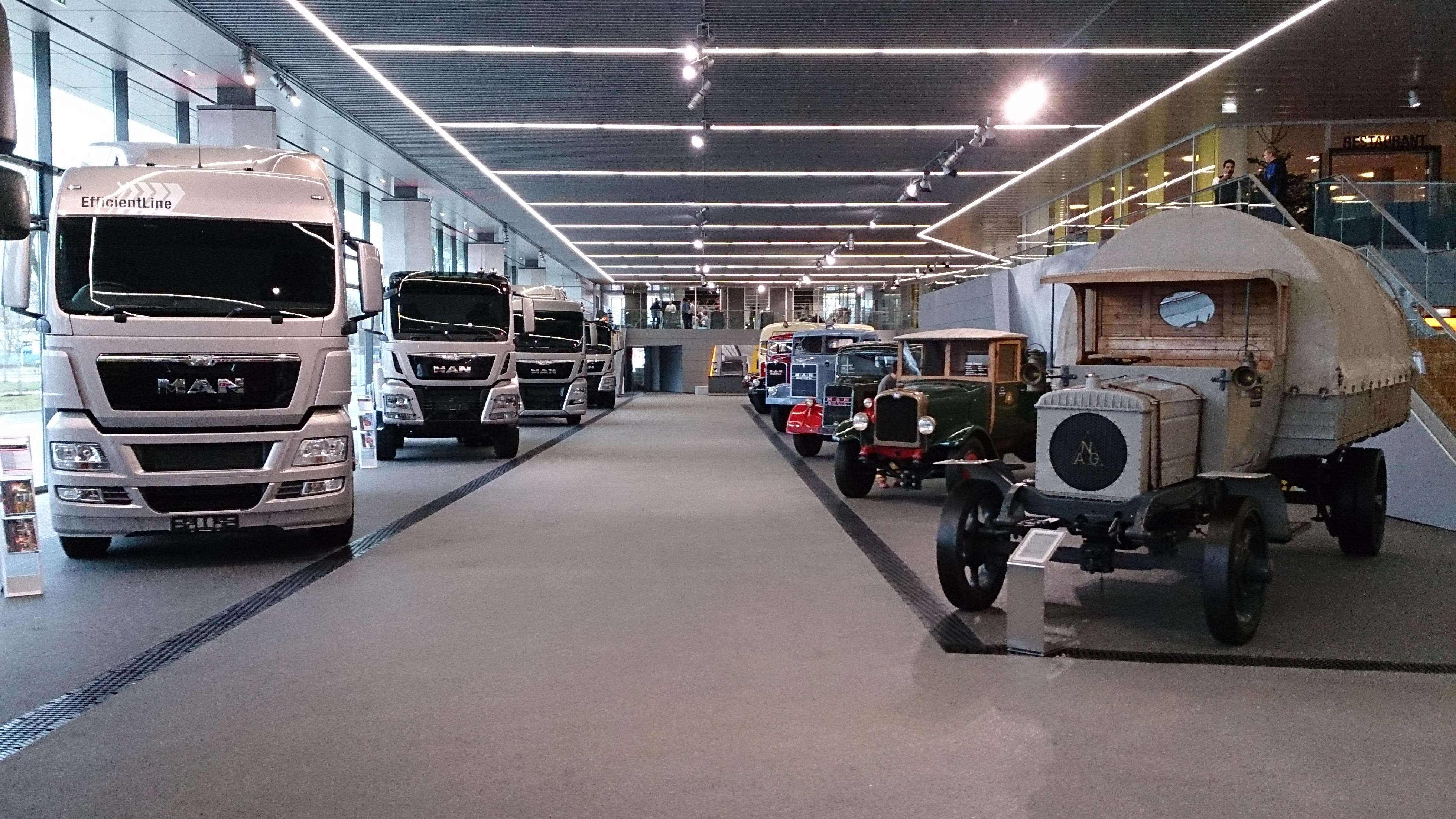 "Sonderausstellung ""100 Years MAN Truck and Bus"""