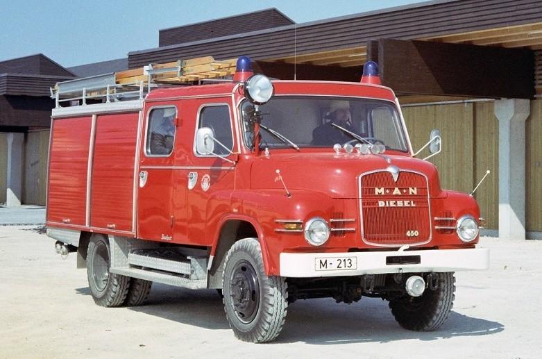 MAN – 100 Jahre Partner der Feuerwehren