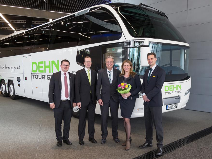 NEOPLAN Cityliner - Hauptgewinn für Dehn Touristik