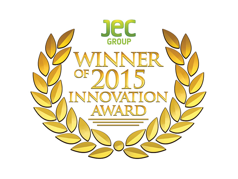 The JEC award is used to distinguish outstanding developments made of fibre-reinforced composite materials