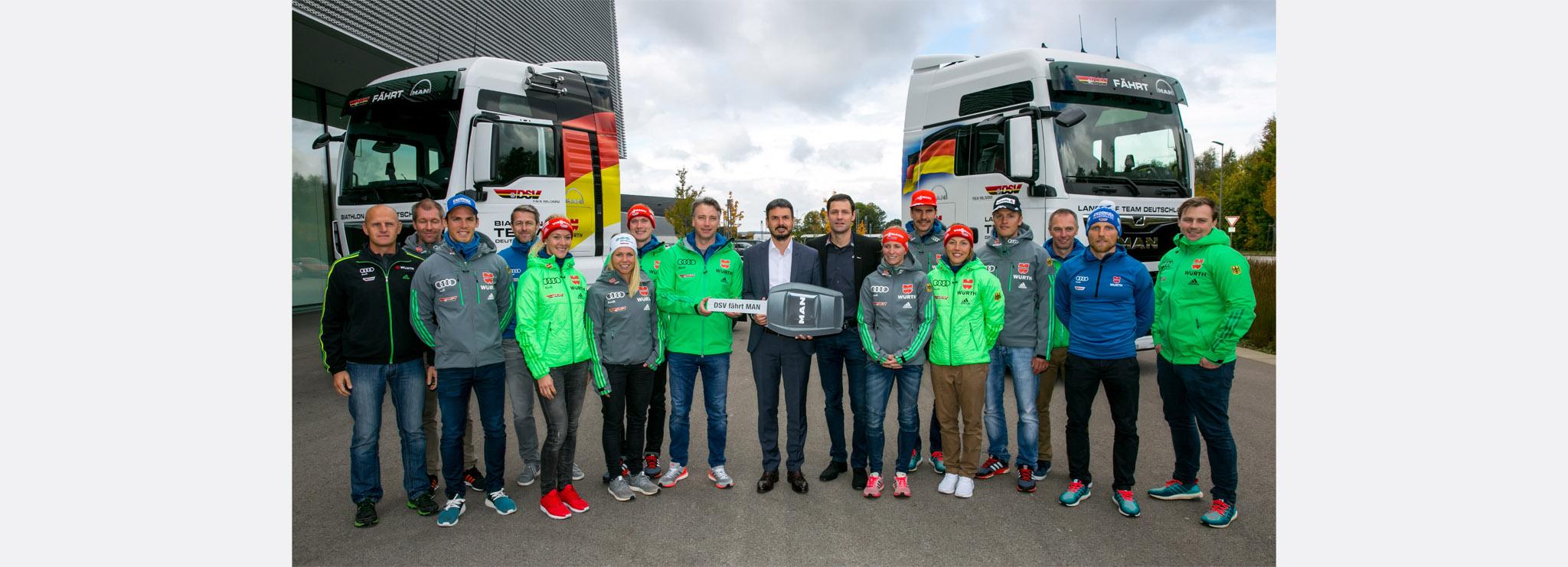 Deutscher Skiverband vertraut auf MAN TGX