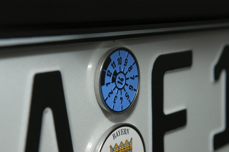 TUEV badge