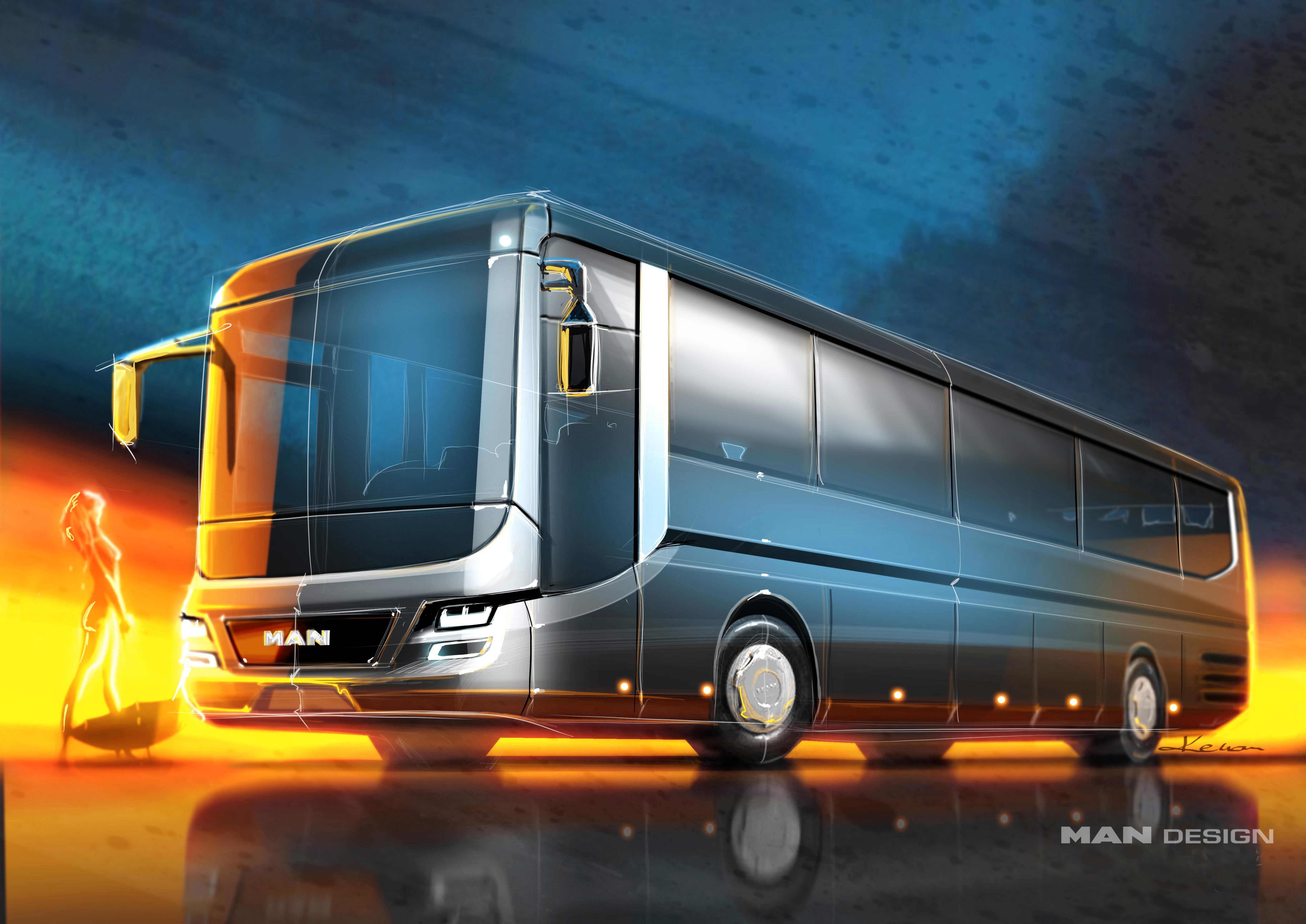 Nach dem iF Gold Award konnte der MAN Lion's Intercity nun auch eine Nominierung für den German Design Award für sich verbuchen