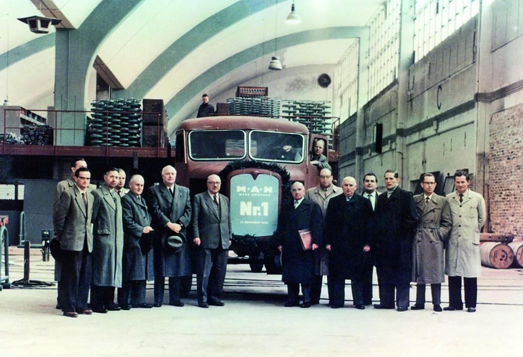 MAN feiert 60 Jahre Werk München