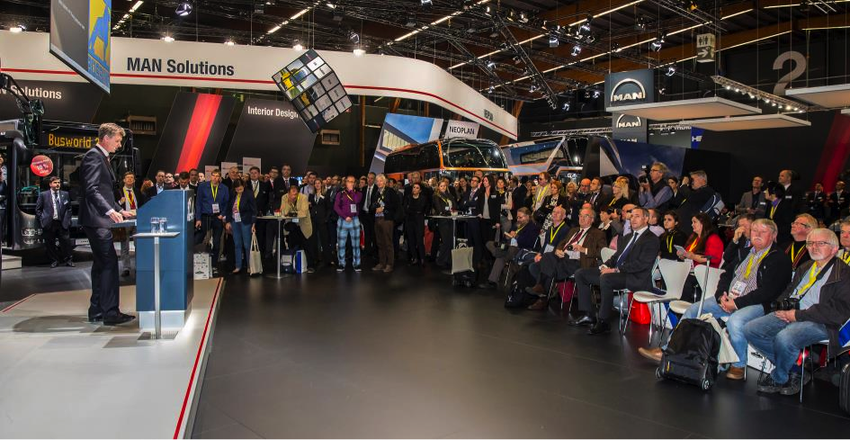 Success for MAN at Busworld 2015