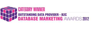 Database Marketing Awards Winner
