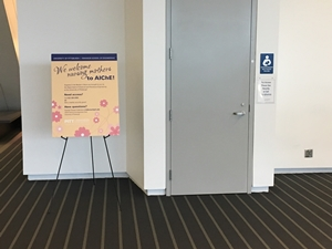 AIChE Mothers Room Exterior
