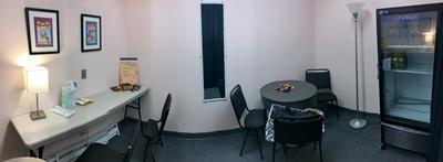 AIChE Mothers Room Interior