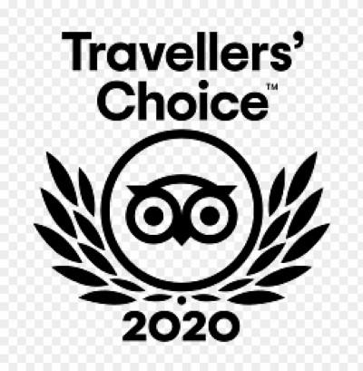 Trip Advisor Travellers' Choice 2020 award