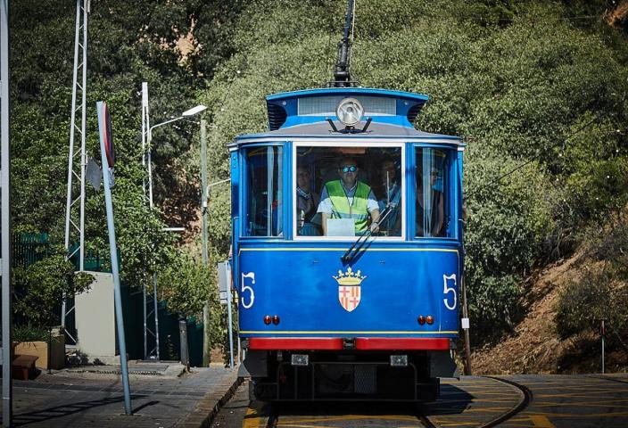 Foto Tramvia Blau Tibidabo
