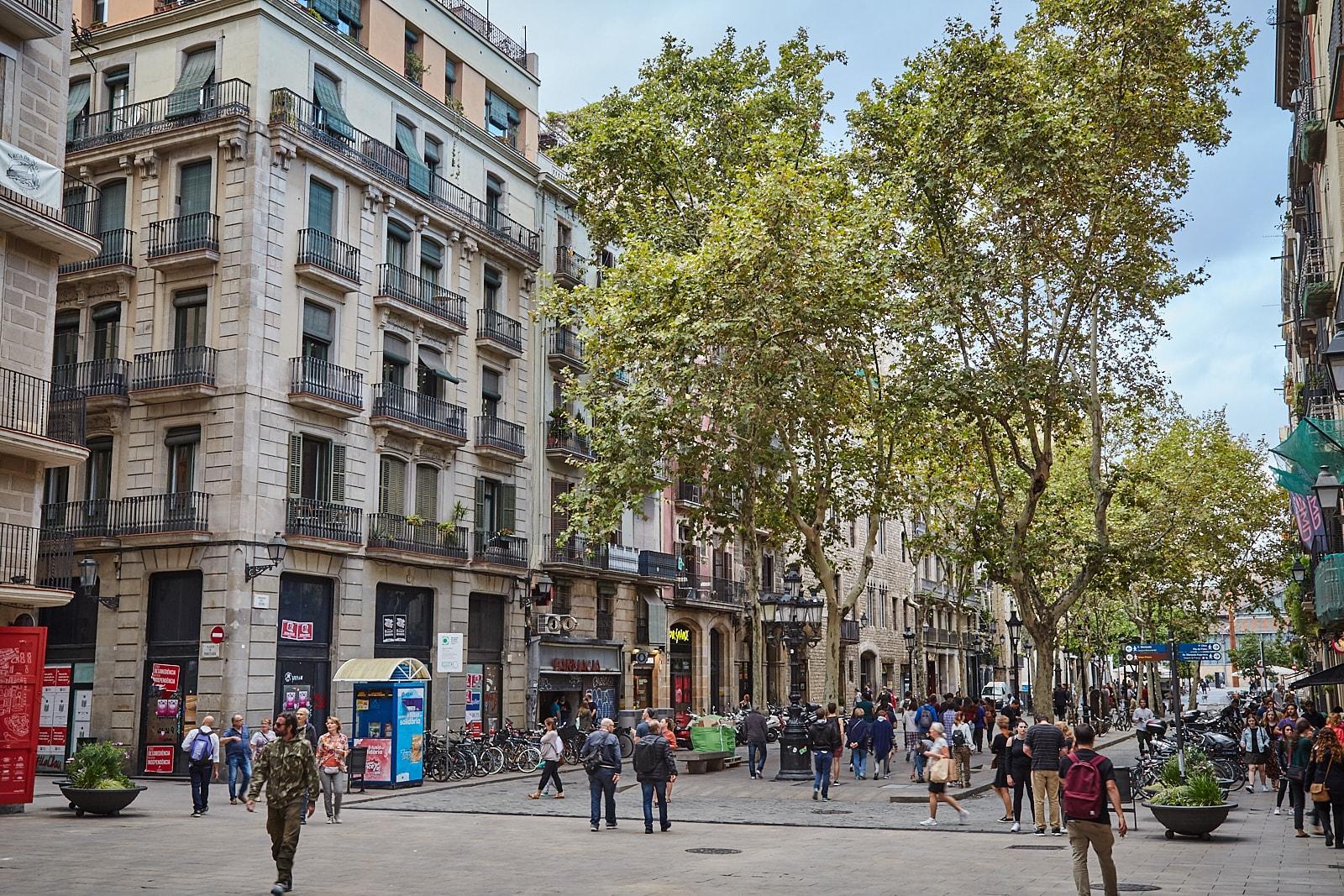 Foto Barrio del Born de Barcelona
