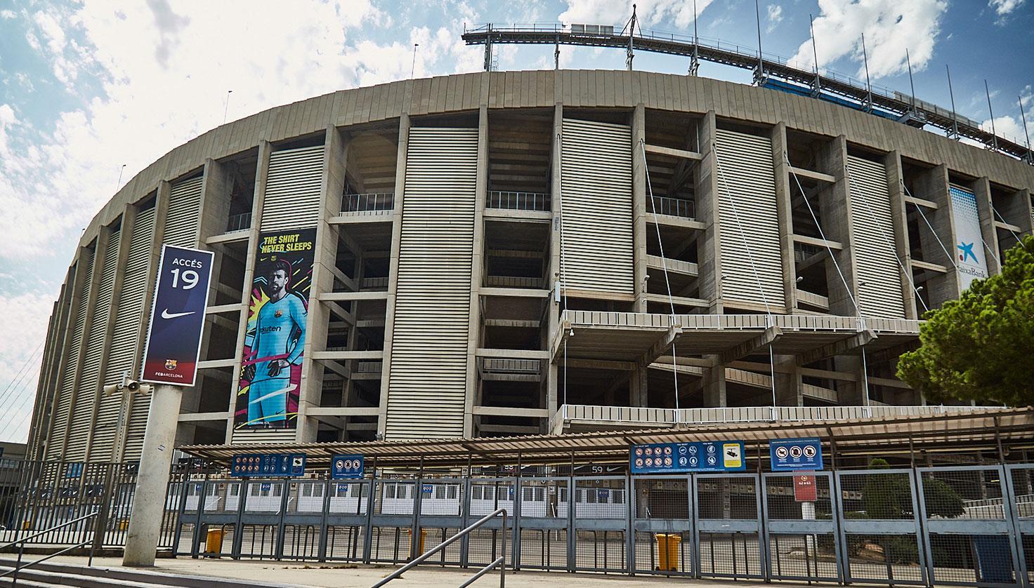 Camp Nou - Futbol Club Barcelona fotografie