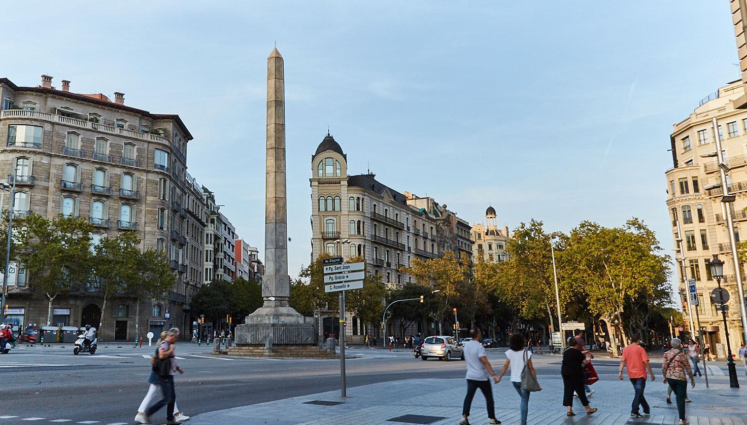 Foto Avinguda Diagonal Barcelona
