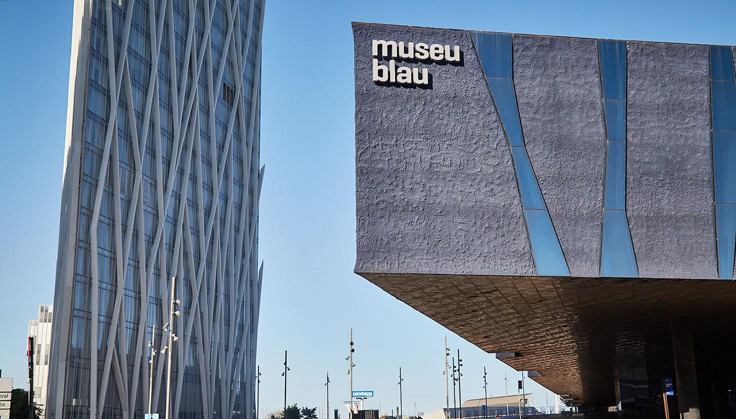 Photo Blue Museum - Natural Sciences Museum of Barcelona