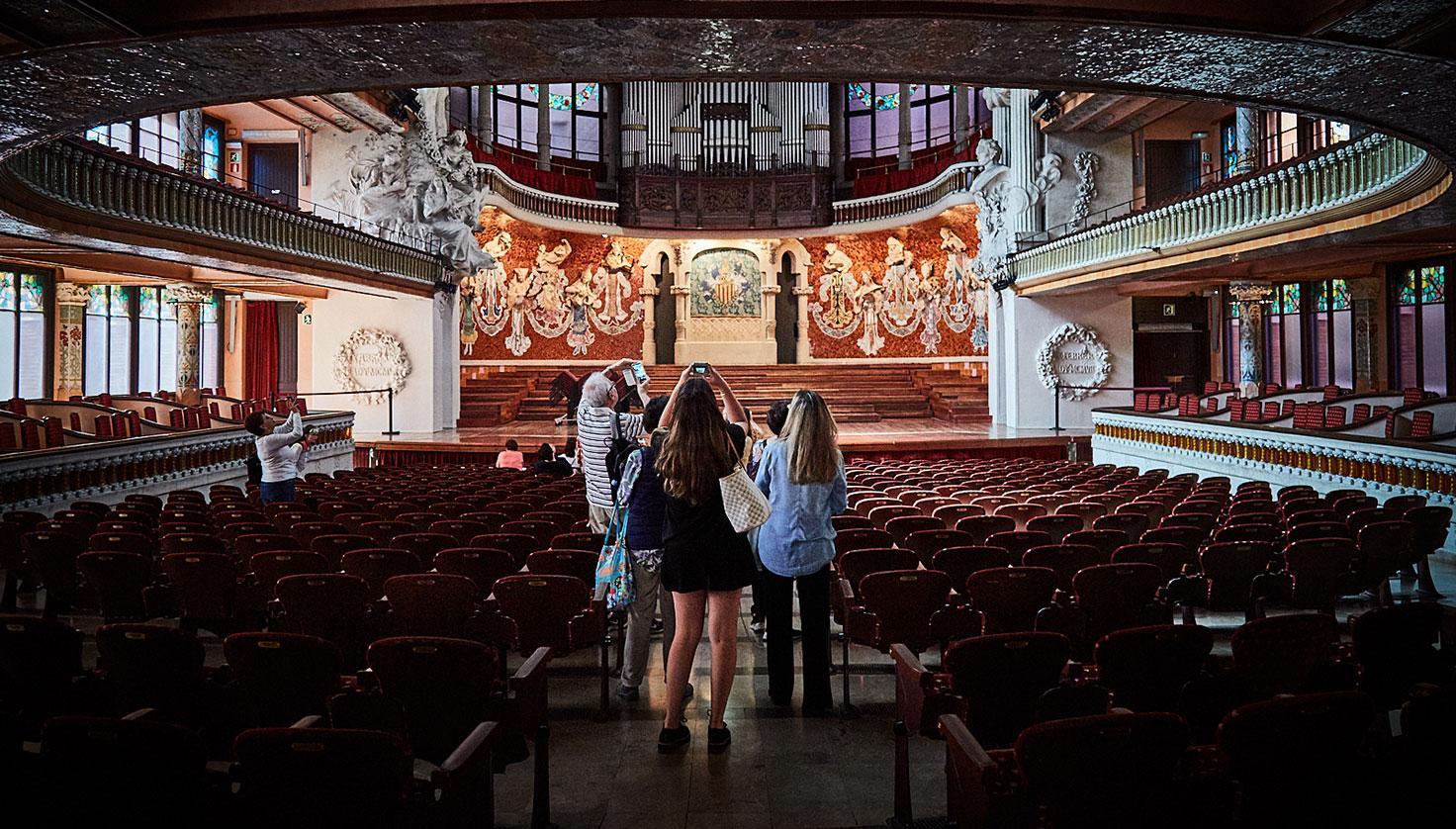 Foto Palazzo della Musica Catalana