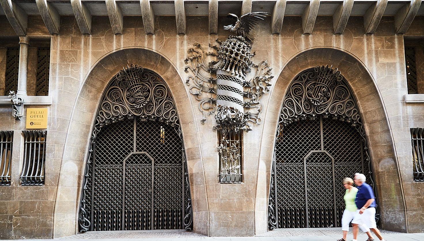 Foto Palau Güell Gaudí - Barcelona