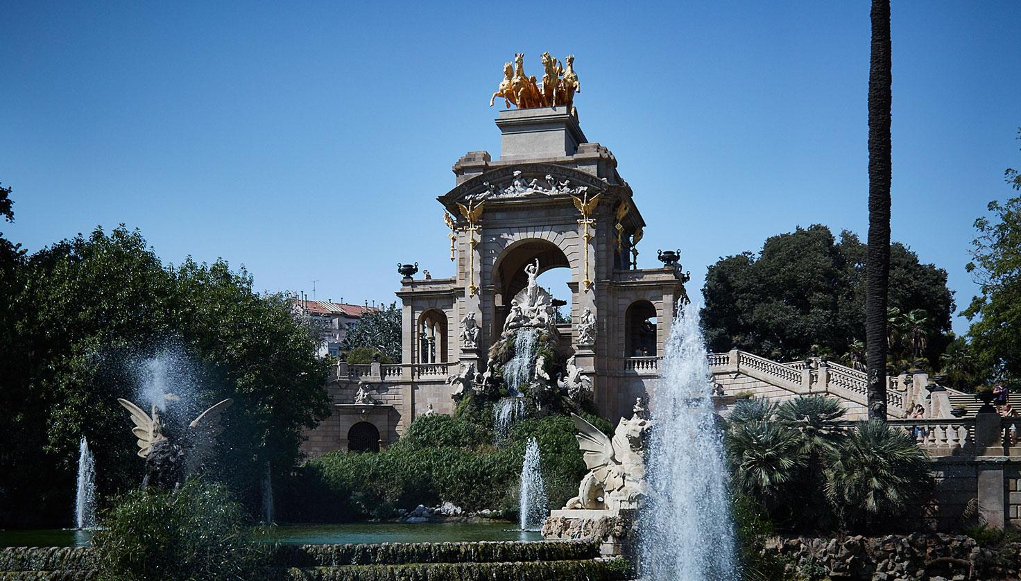 Photo Ciutadella Park of Barcelona