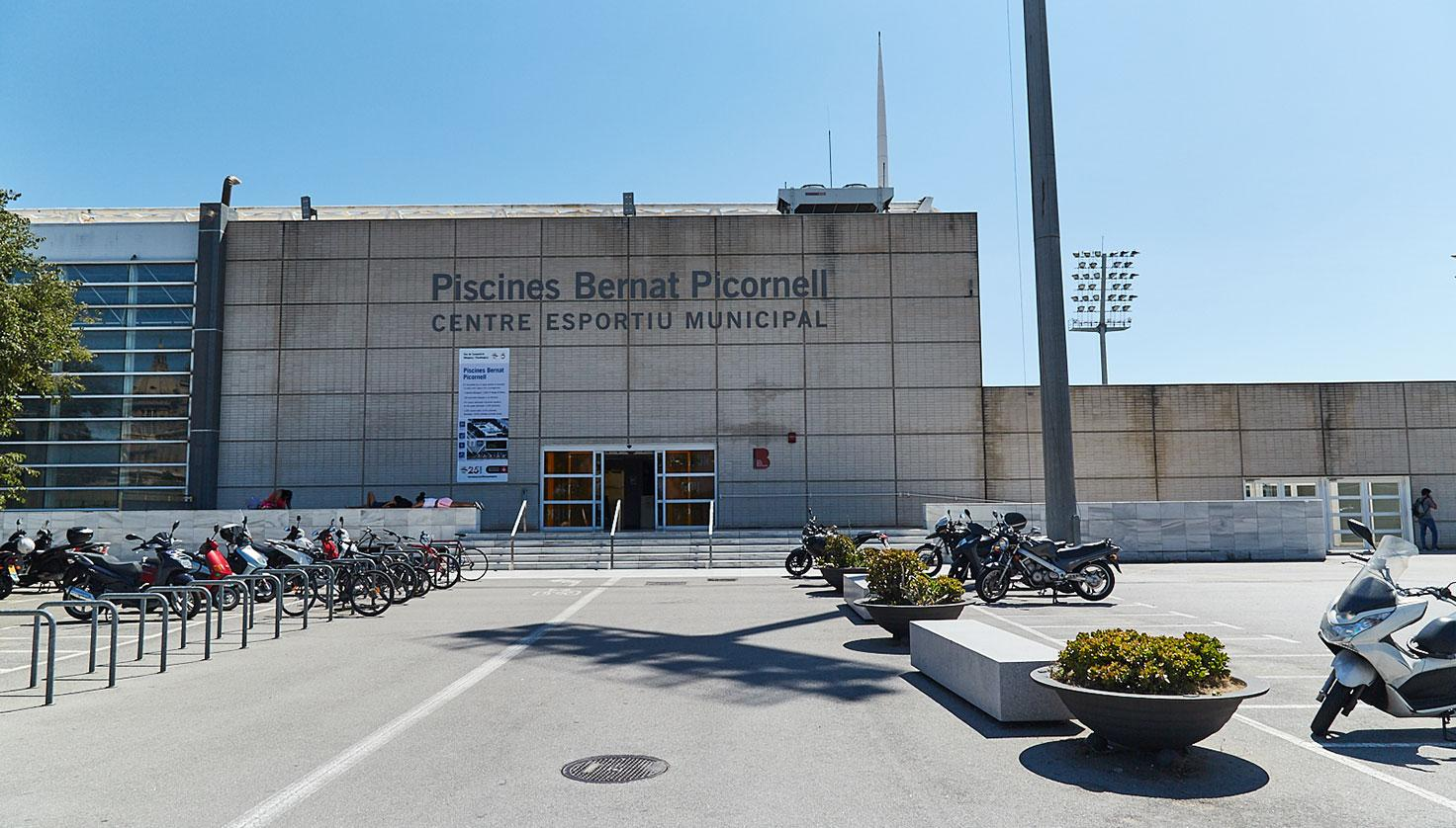 Photo Bernat Picornell Pools Barcelona