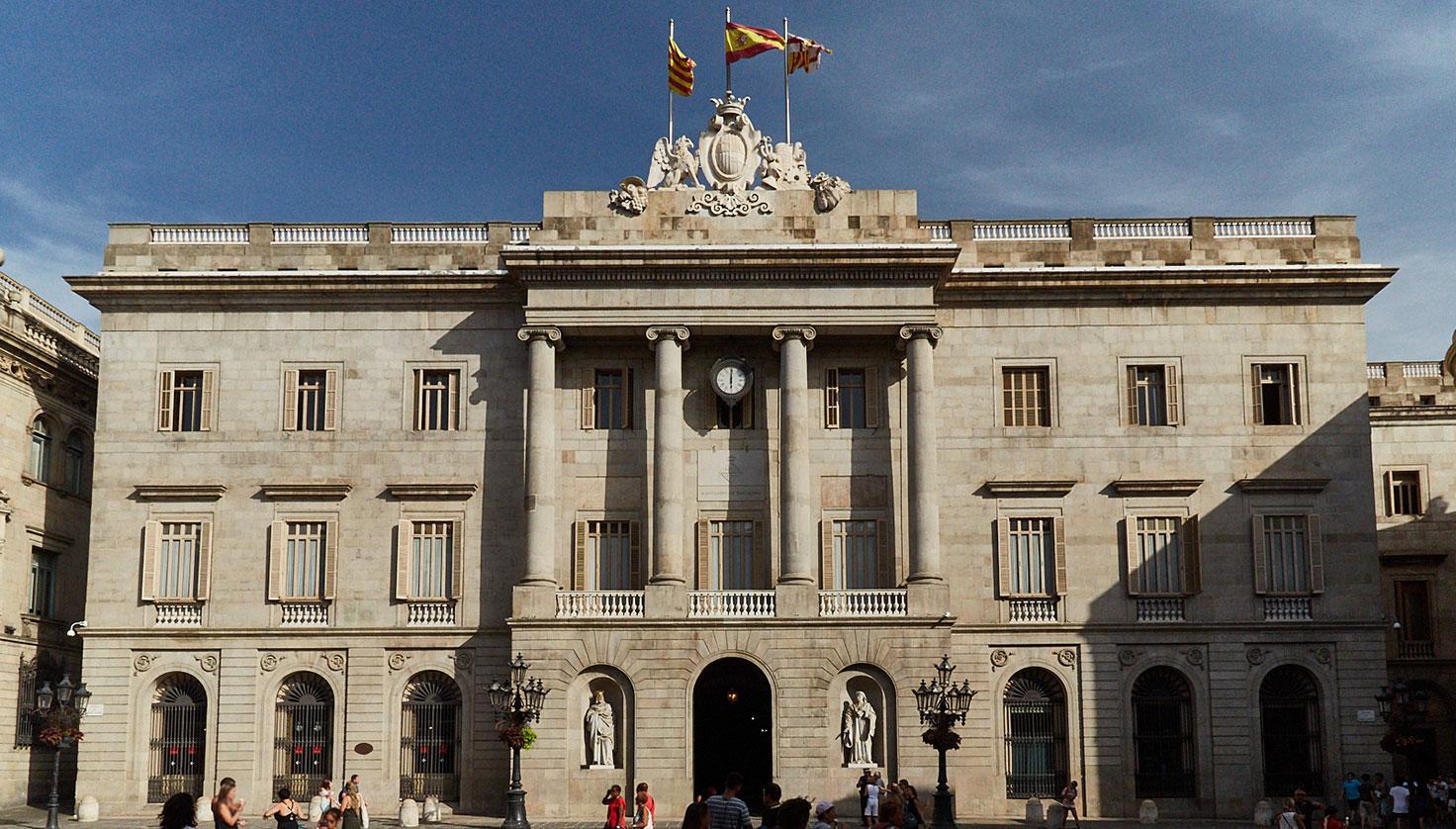 Photo Plaça de Sant Jaume Barcelona