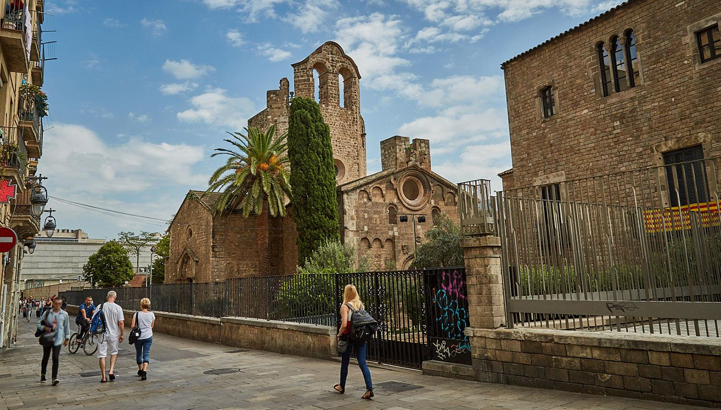 Photo Sant Pau del Camp Monastery
