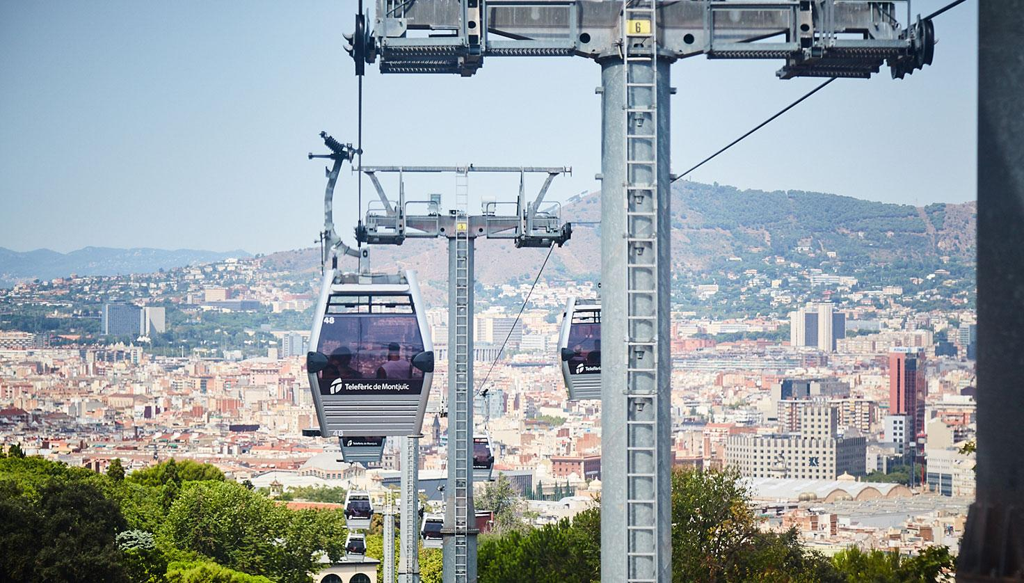Foto Teleférico Montjuïc Barcelona