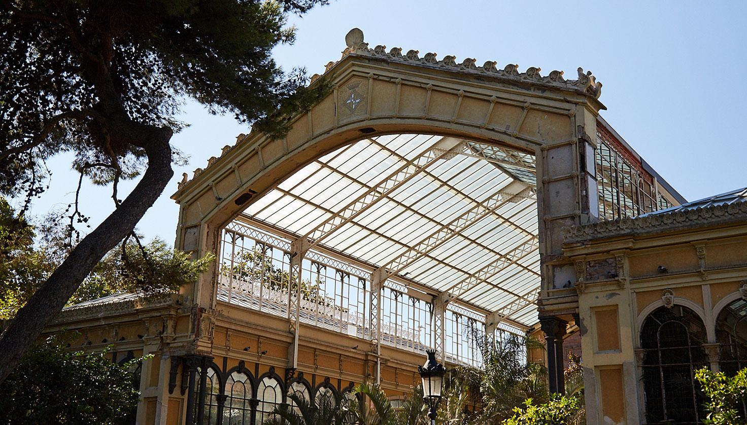 Photo Ciutadella Park Glasshouse