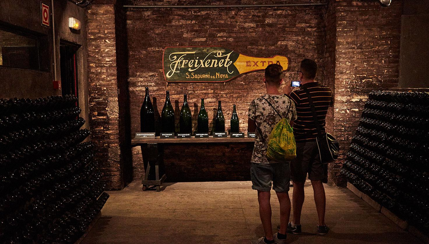 Photo Freixenet cellar