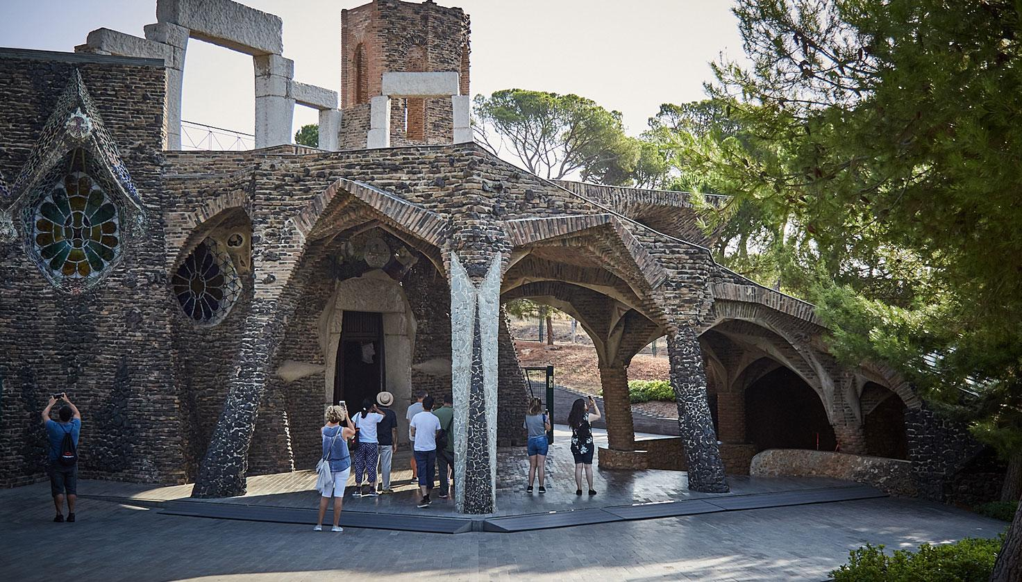 Photo Colònia Güell and Gaudí Crypt