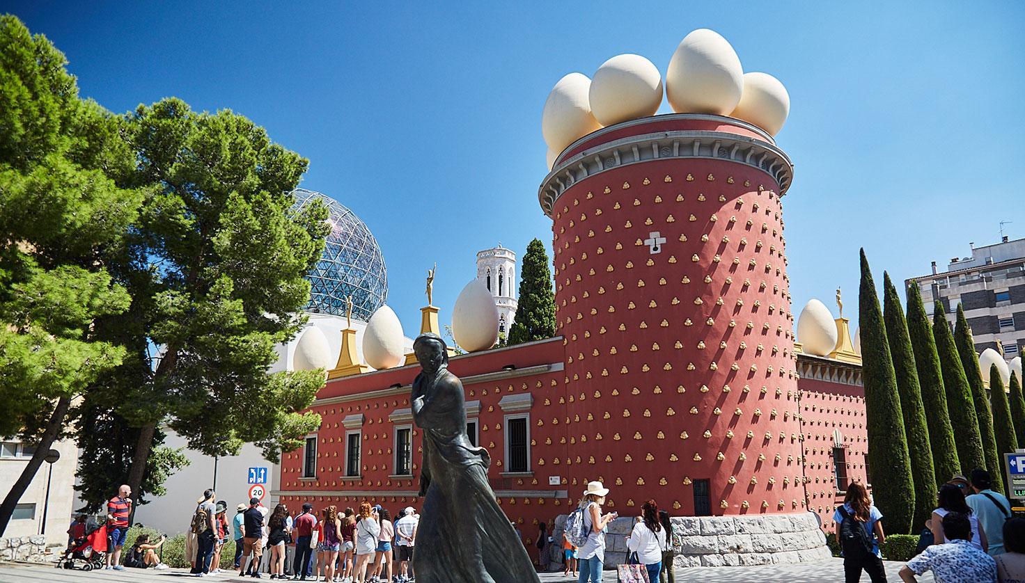 Foto Teatre Museu Dalí i Exposició Dalí Joies