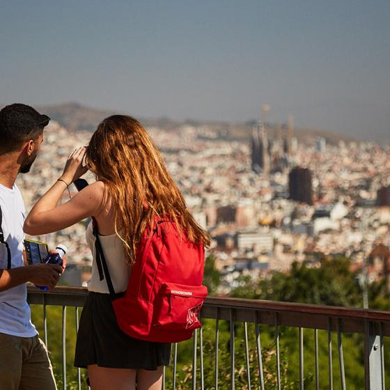 Parks and lookout points of Barcelona