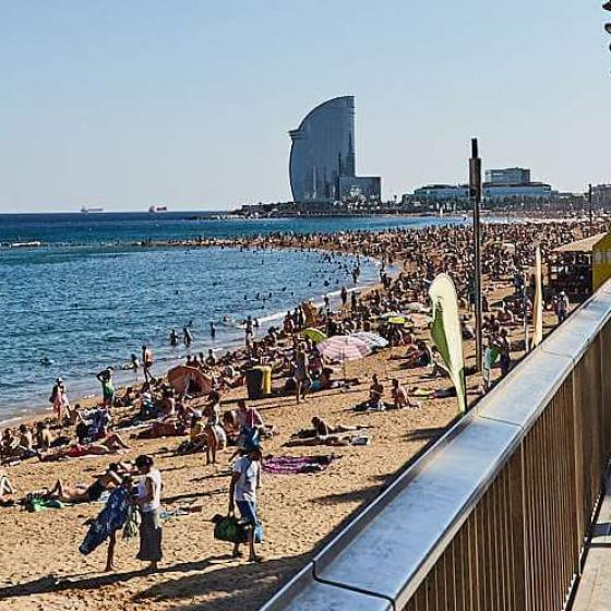 Beaches and ports of Barcelona