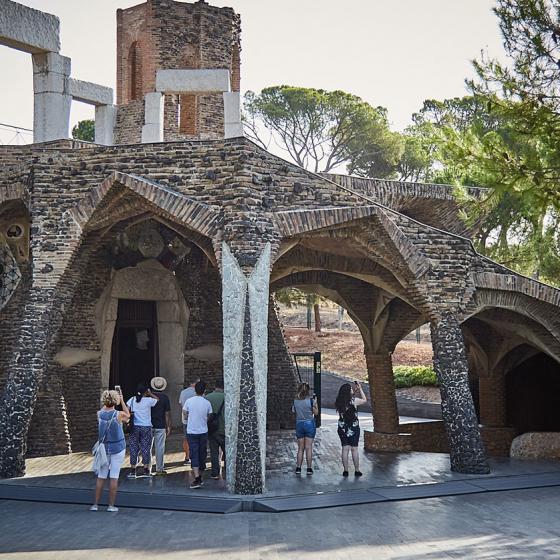 Foto Colònia Güell i cripta Gaudí