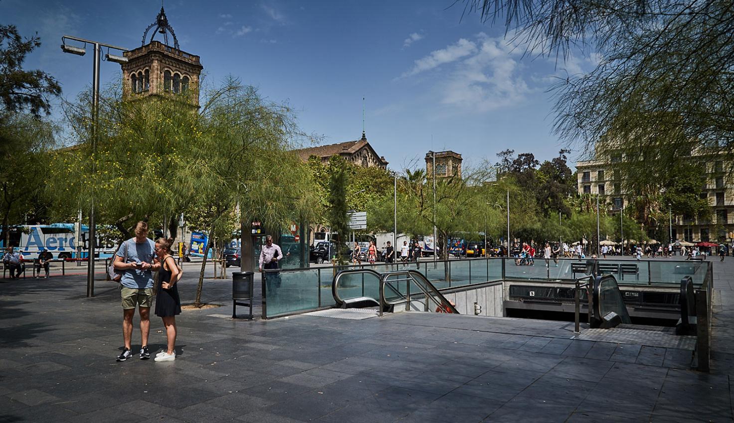 Foto Plaza de la Universitat