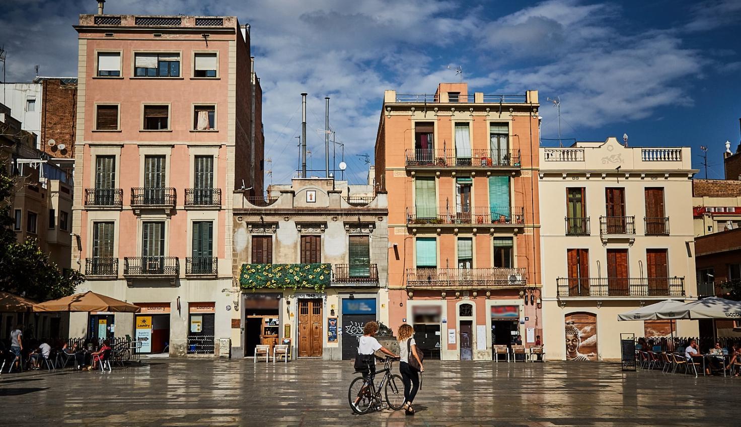 Foto Stadtteil Gràcia die Plätze