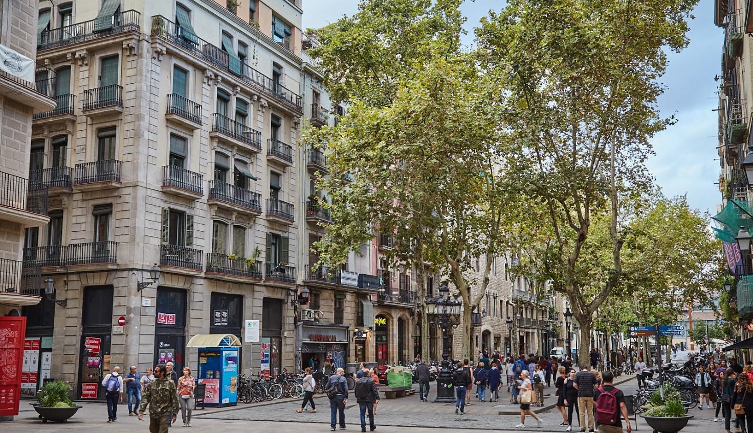 Photo Barcelona El Born District
