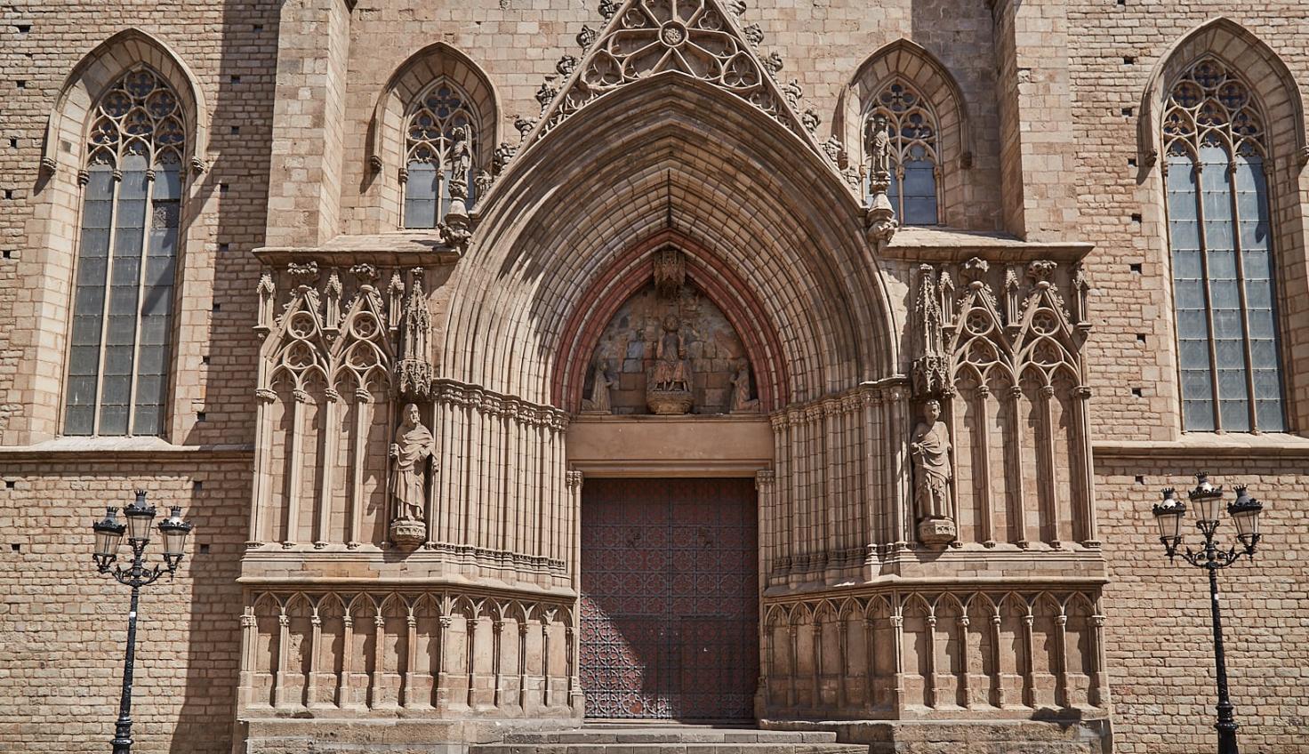 Basilika Santa Maria del Mar fotografie