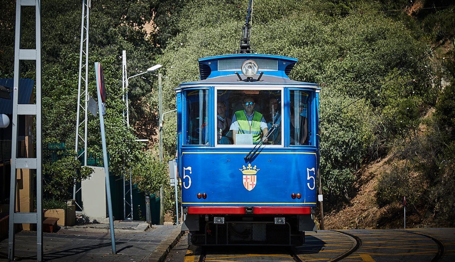 Photo Tramvia Blau Tibidabo