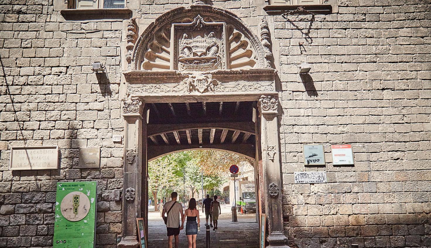 Foto Antiguo Hospital de la Santa Creu de Barcelona
