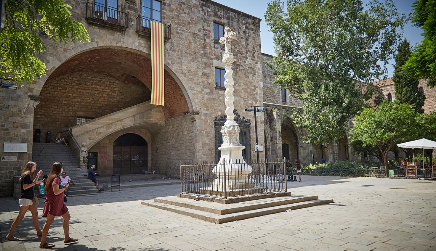 Foto Antiguo Hospital de la Santa Creu