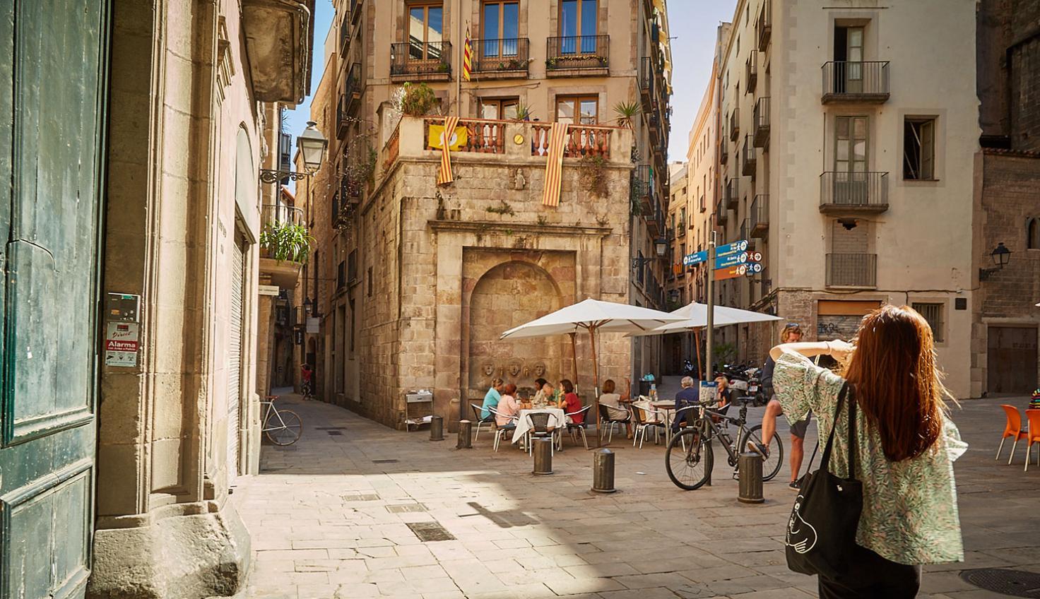 Das Gotische Viertel fotografie