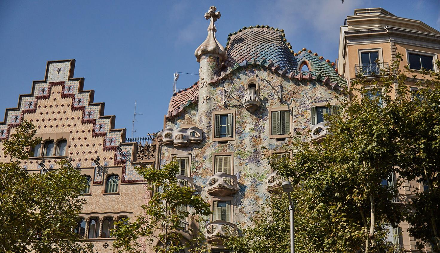 Casa Batlló Gaudí fotografie