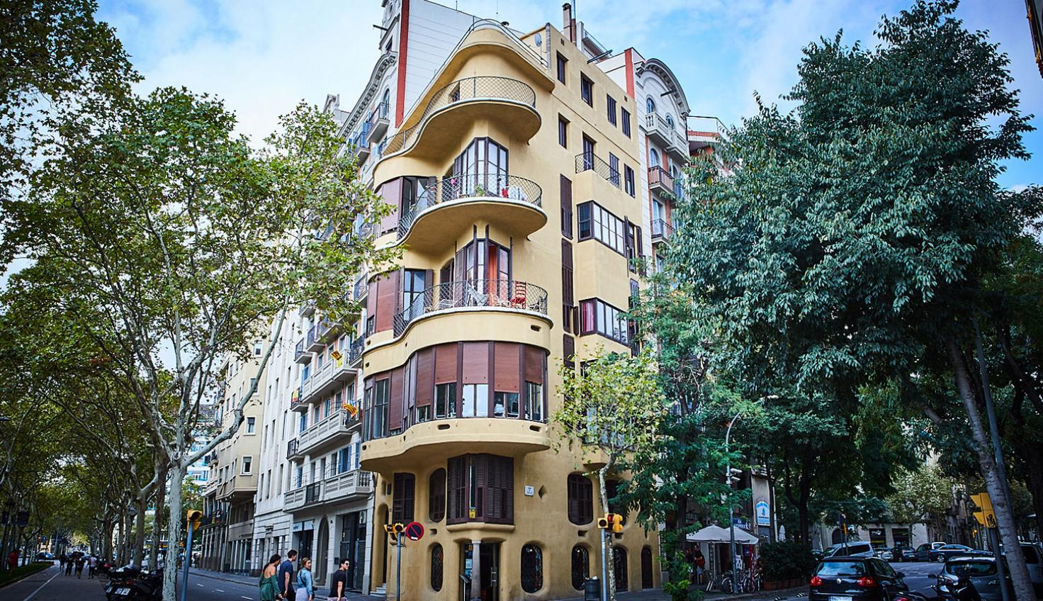 Casa Planells Jujol fotografie