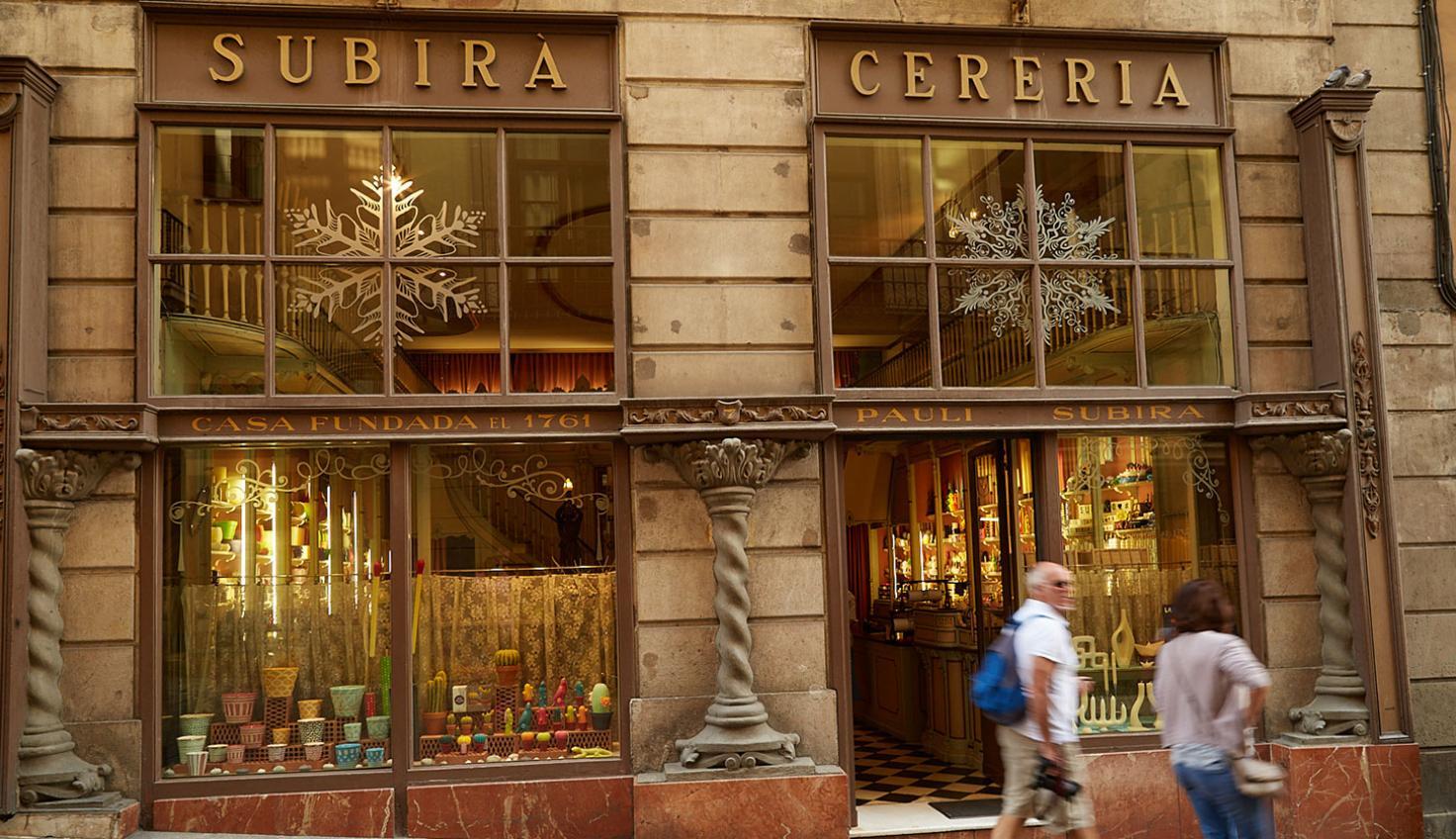 Photo Cereria Subirà Barcelona