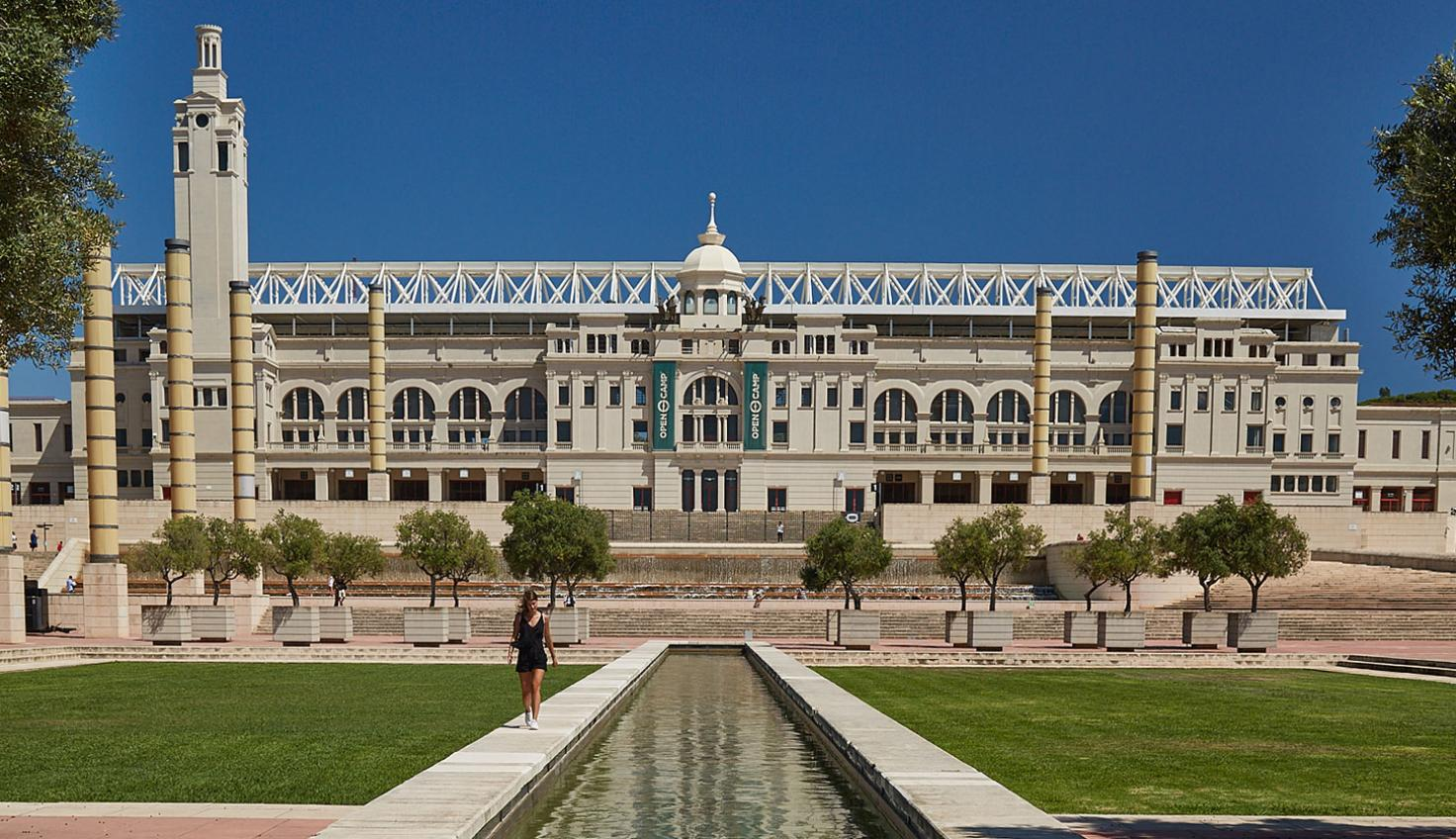 Foto Estadio Olímpico Lluís Companys